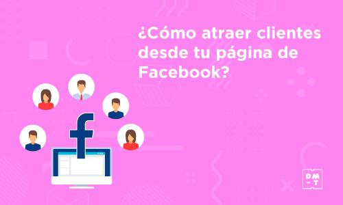 atraer clientes desde Facebook